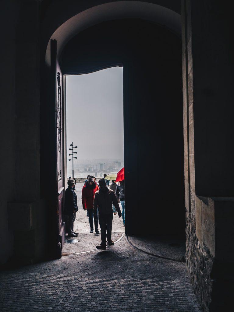 doors to castle