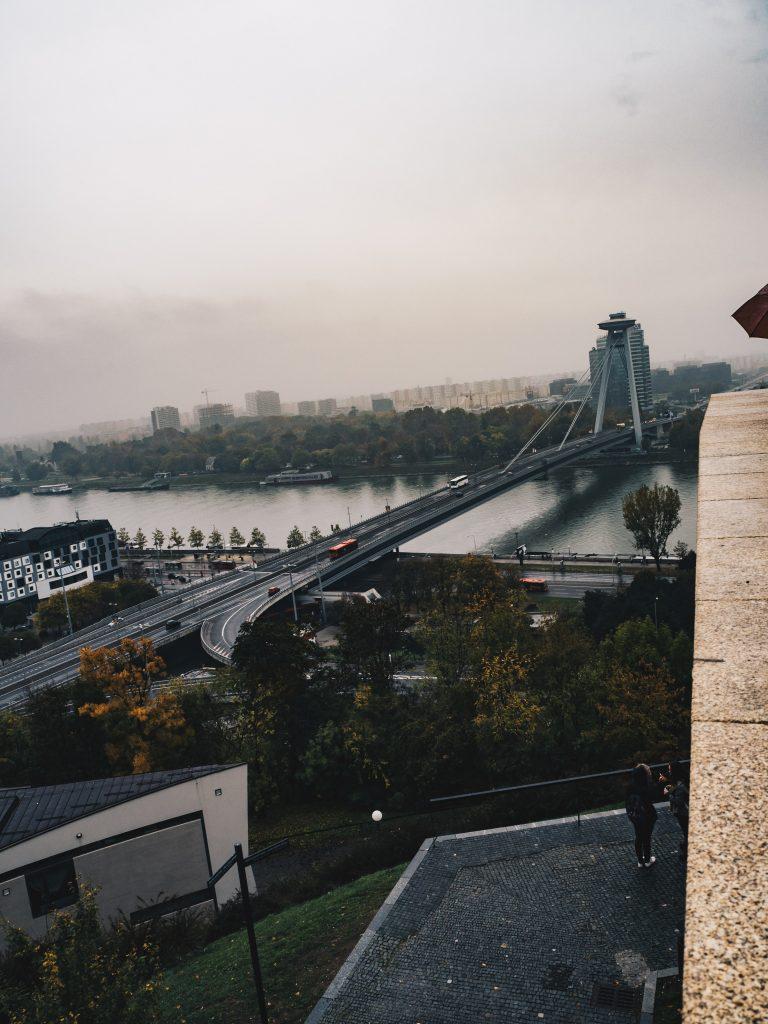 more view from Bratislava Castle