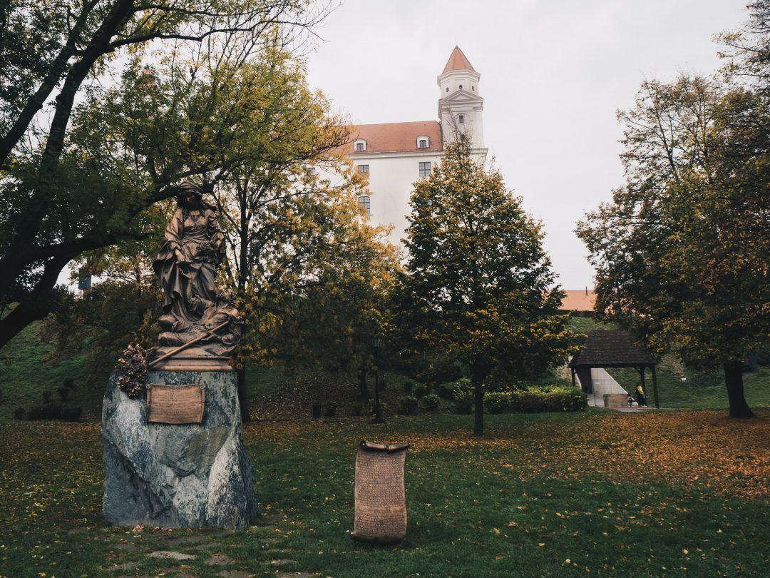 park by castle