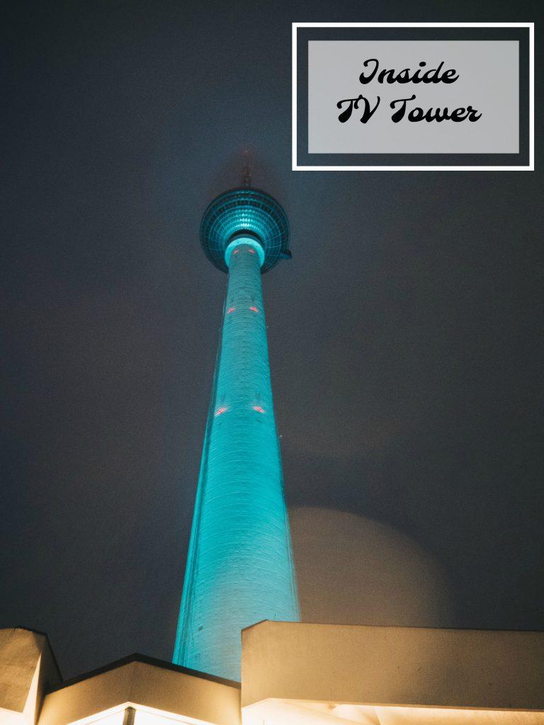 pin it: tv tower at night