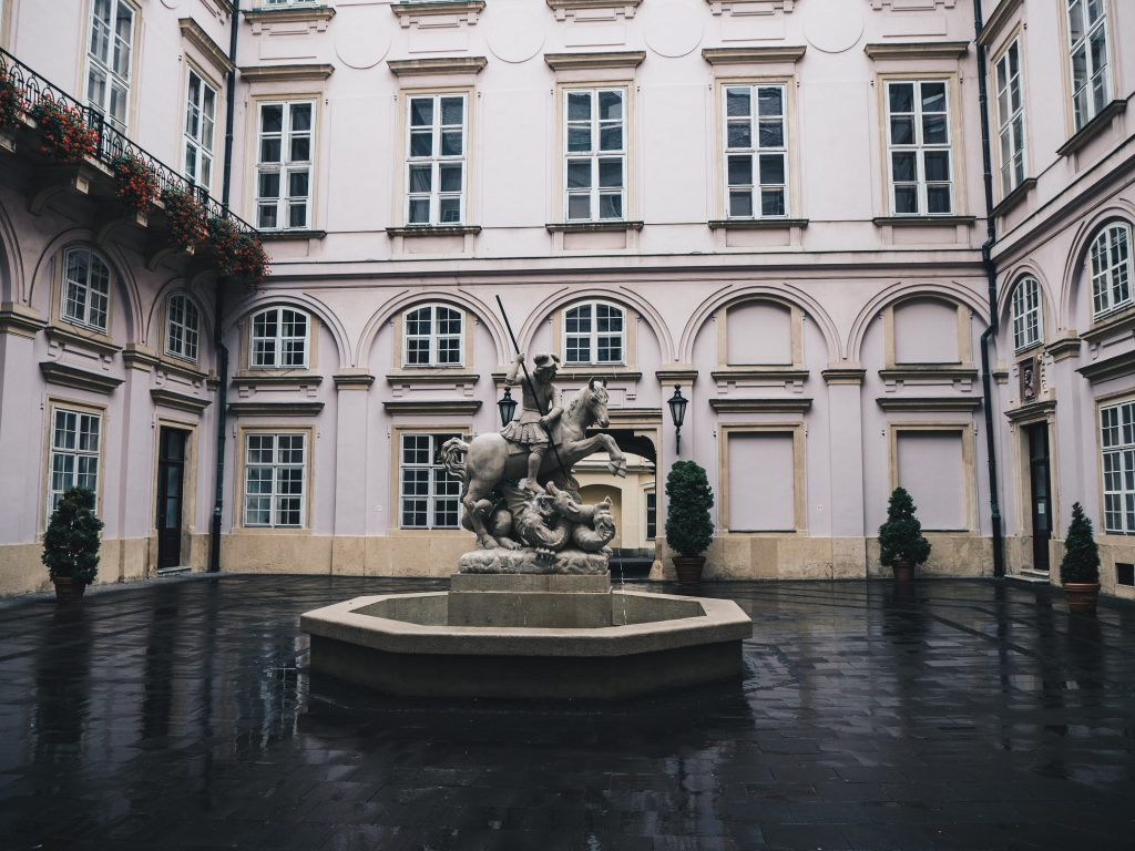 primates palace courtyard