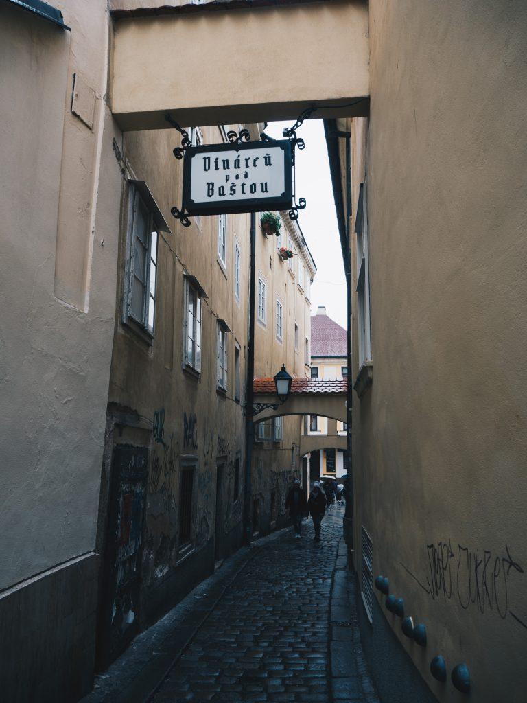 skinniest street in bratislava