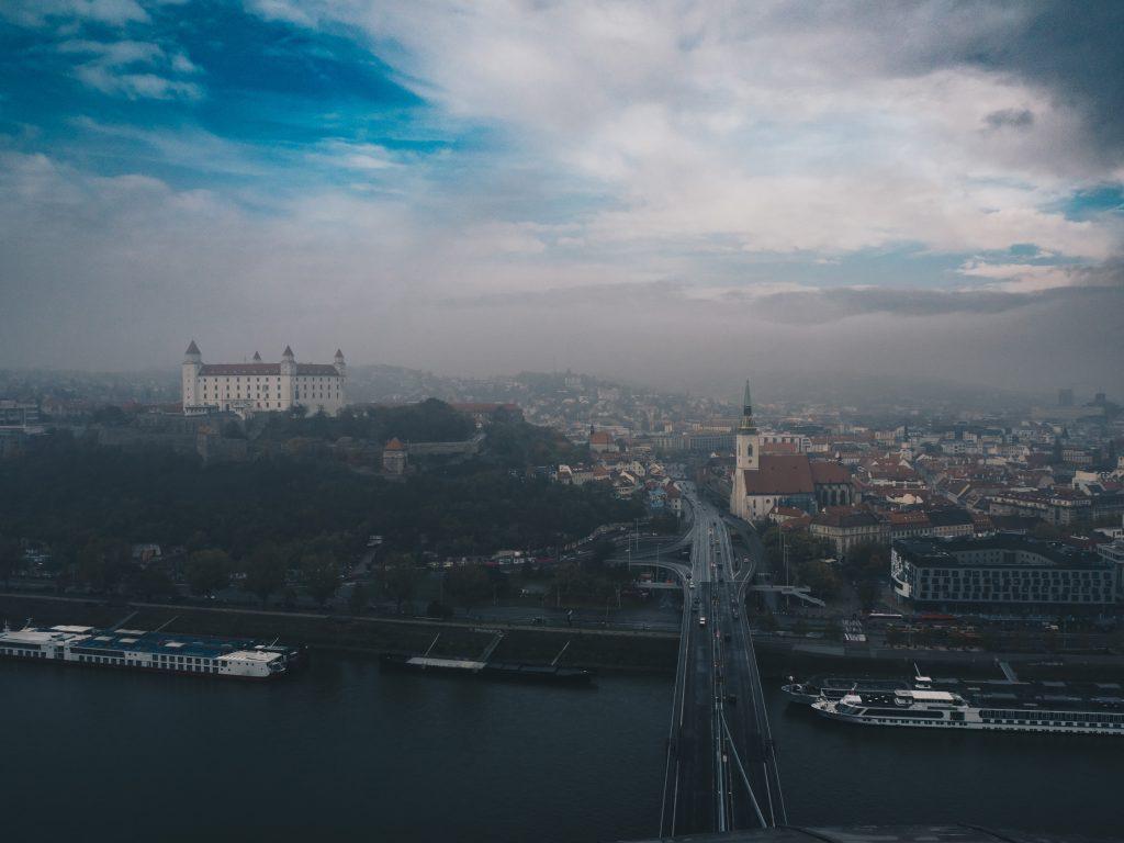 ufo tower view of bratislava