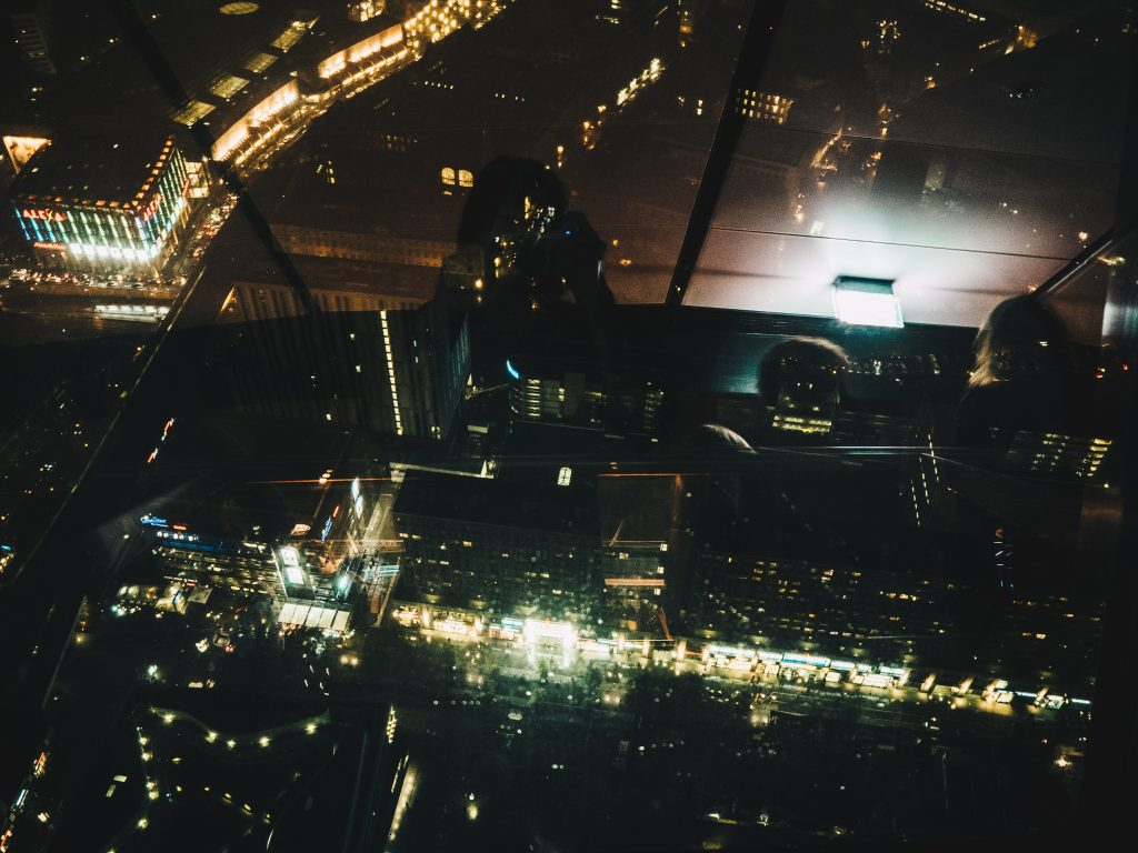 view of berlin from tv tower