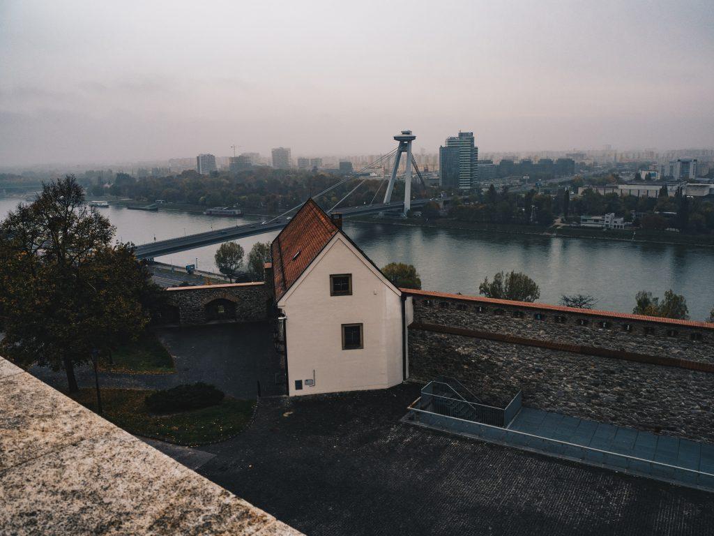 walls Bratislava Castle