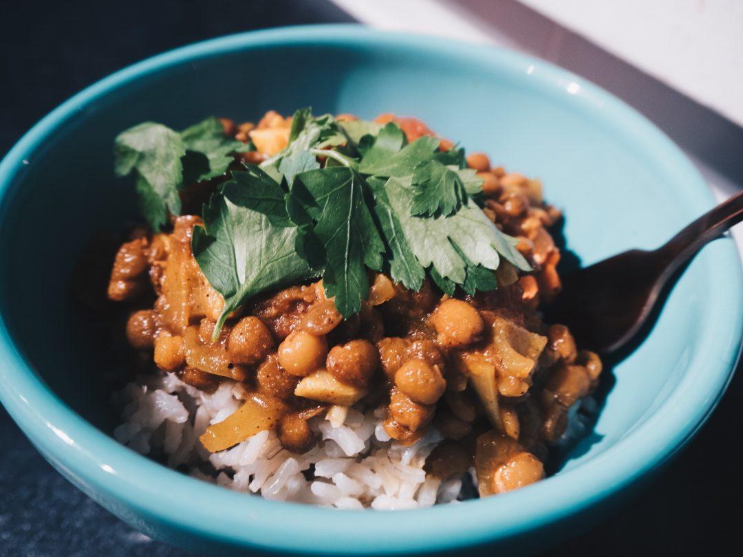 recipes spicy vegan lentil stew rhyme ribbons