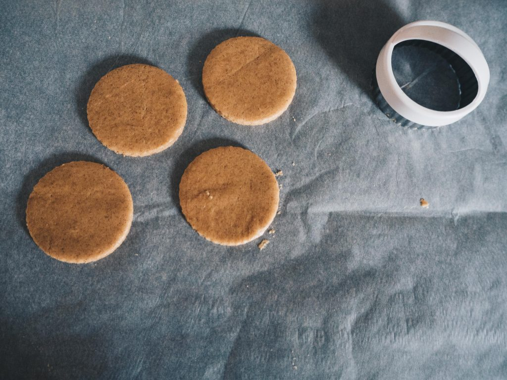 cutting out biscuits
