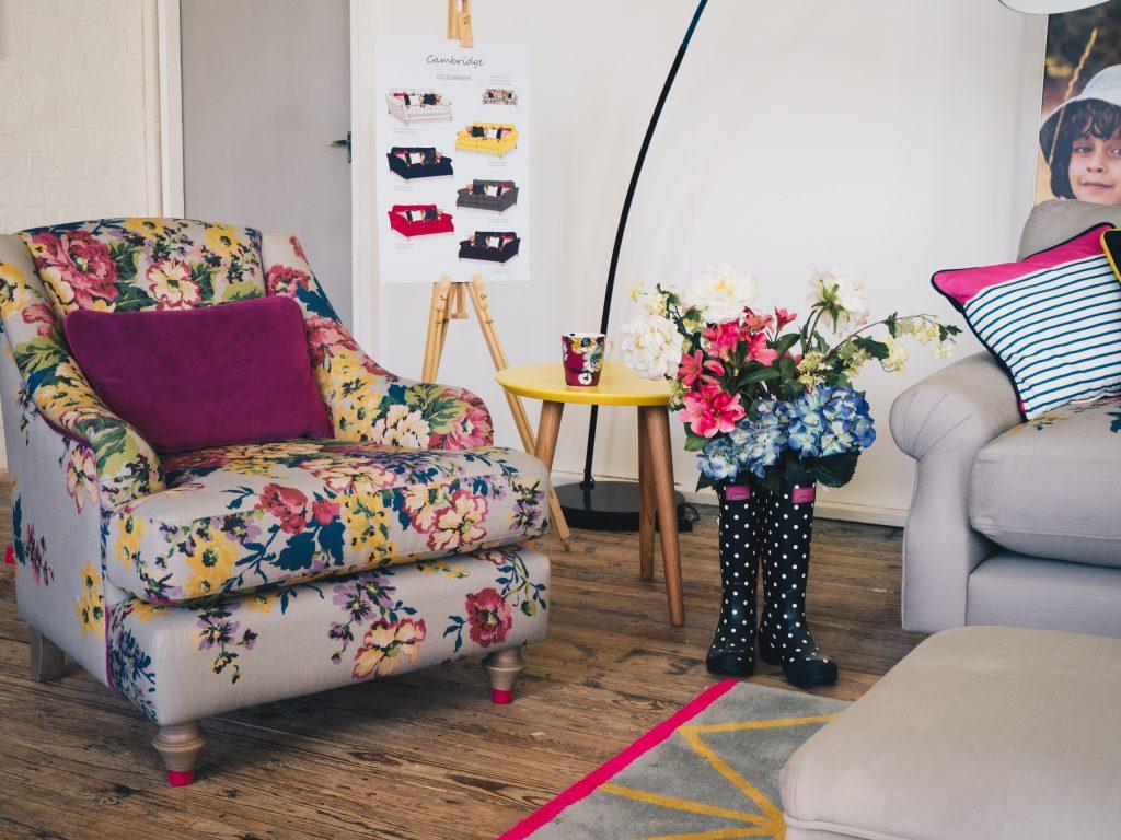 joules dfs mushroom armchair