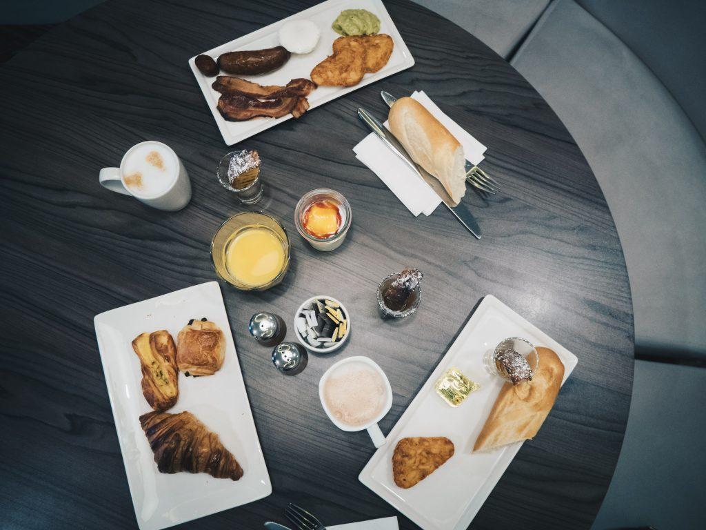 breakfast top shot