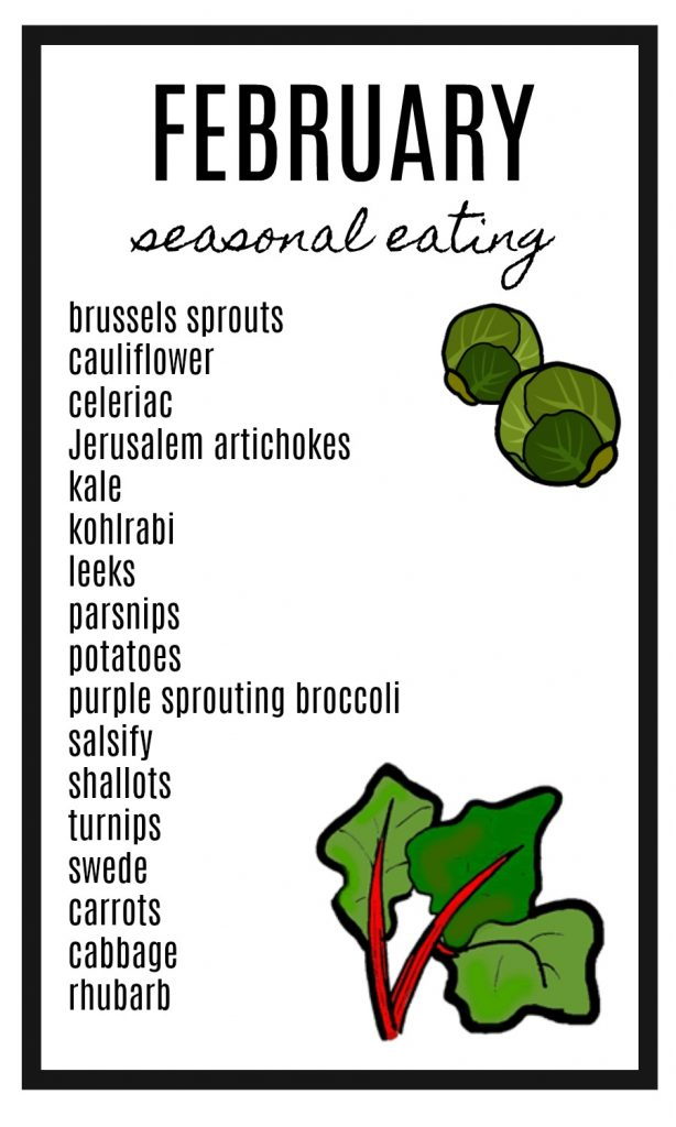 February seasonal eating guide