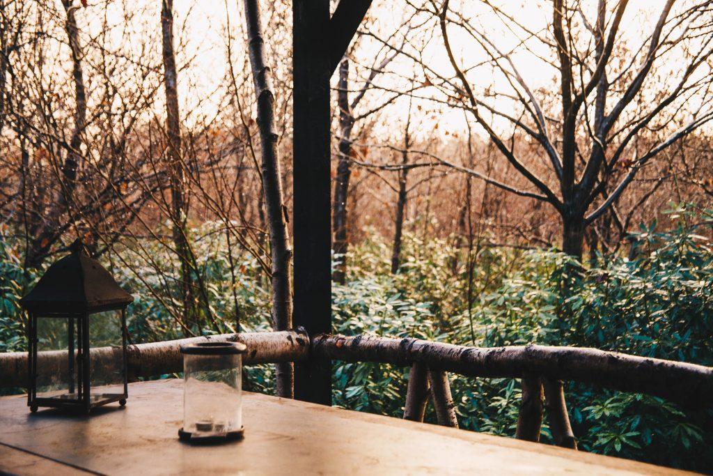 deck outside cabin