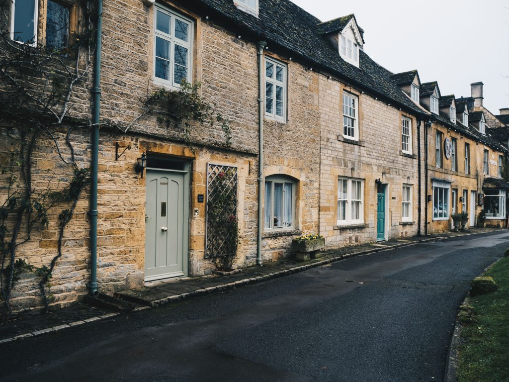 houses on streets